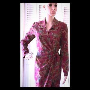 RARE FIND! 🌹VINTAGE🌹Gorgeous Wrap Dress!🌹EUC!!